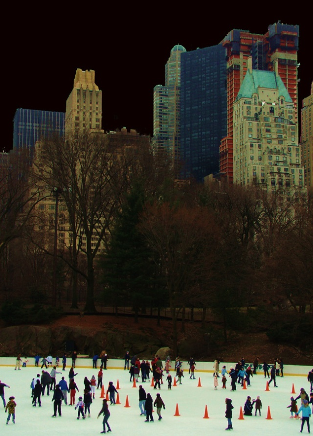 Skaters, March by Christopher Woods