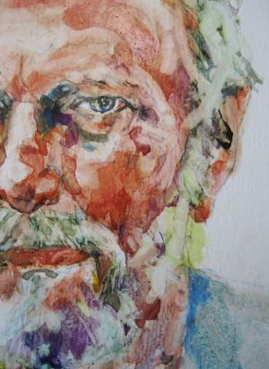 Portrait of Walter Bjorkman, by Rebecca Venn