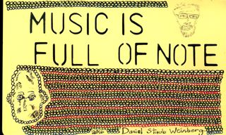 Music is full of Note