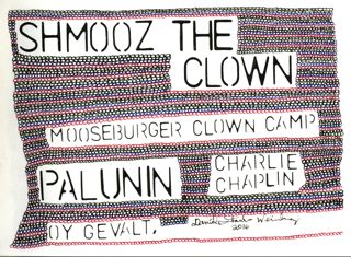 SHMOOZ THE CLOWN--OY GEVALT--